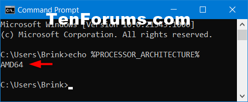 How to Check if Processor is 32-bit, 64-bit, or ARM in Windows 10-64-bit_processor_command.png