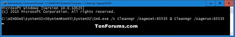 Nhấn vào hình để xem hình lớn hơn.  Tên: Extended_Disk_Cleanup-1.png Lần xem: 1080 Kích thước: 13.5 KB ID: 32562