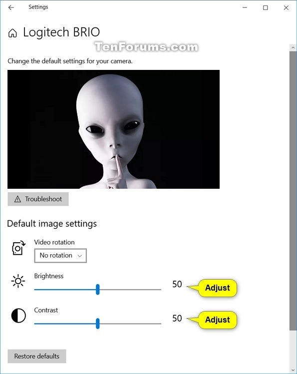 Change or Restore Default Image Settings for Camera in Windows 10-camera_brightness_and_contrast.jpg