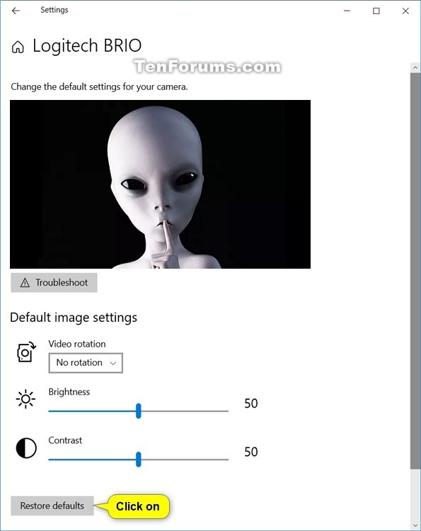 Change or Restore Default Image Settings for Camera in Windows 10-camera_restore_defaults.jpg
