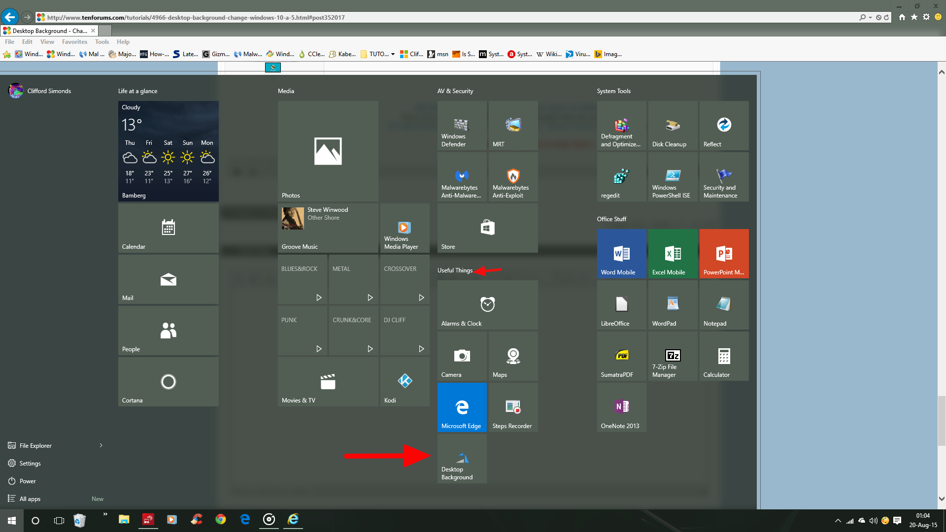 change desktop background in windows 10 page 6 customization tutorials