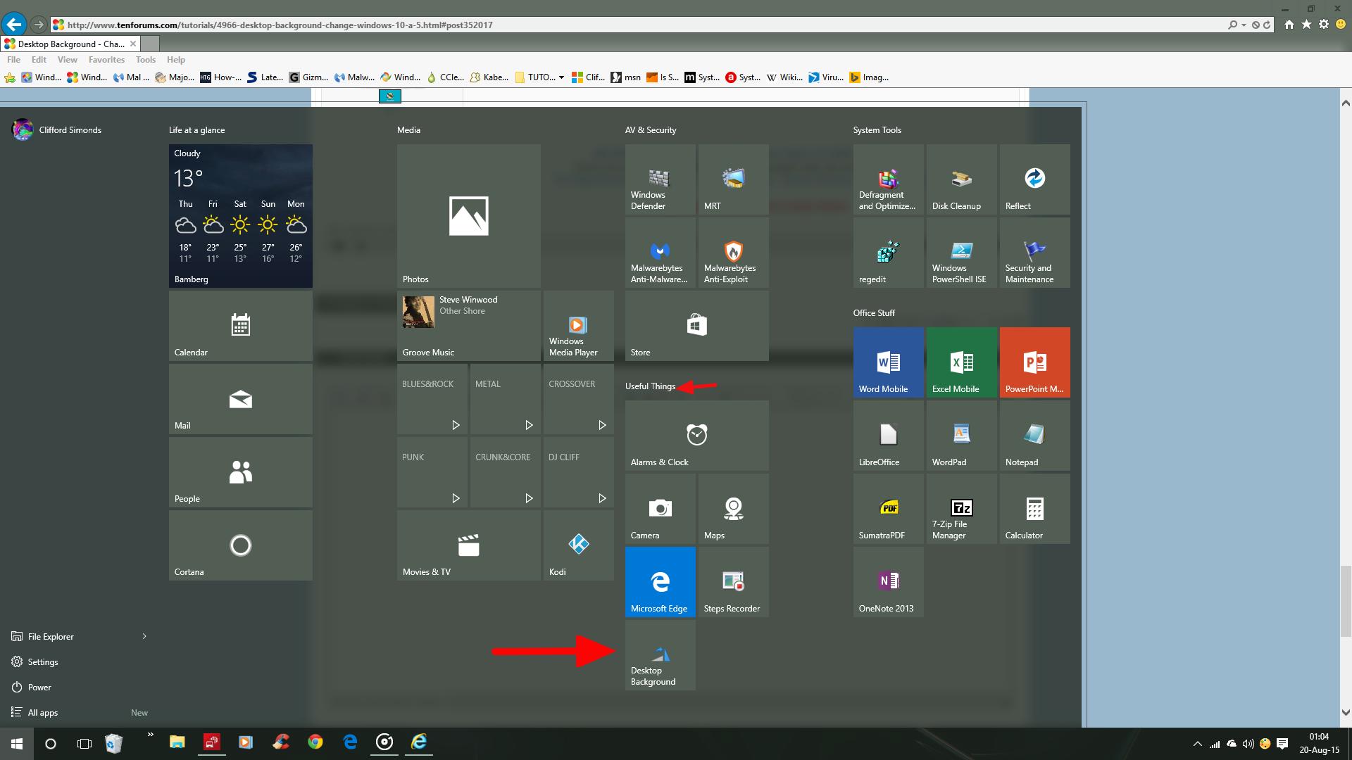 Change desktop background in windows 10 page 6 windows for Change windows