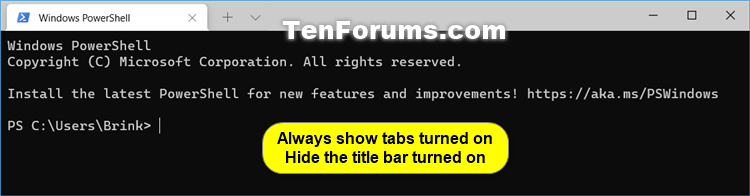 Enable or Disable Always Show Tabs in Windows Terminal in Windows 10-windows_terminal_tabs-.png