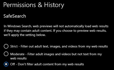 Change SafeSearch Setting in Windows 10-off.png