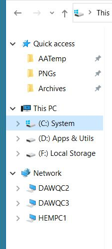 Add or Remove Folders from This PC in Windows 10-folders-gone.jpg