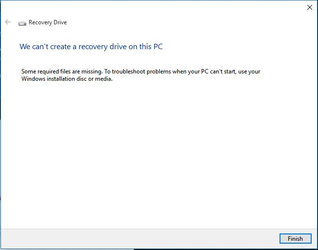 Name:  Recovery Drive.JPG
