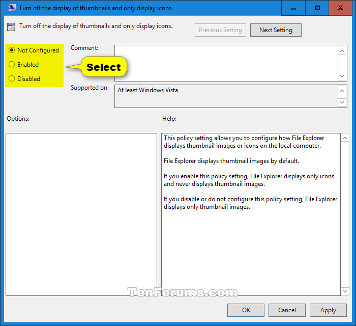 Enable or Disable Thumbnail Previews in File Explorer in Windows 10-thumbnail_previews_gpedit-2.png