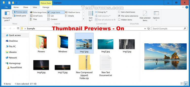 Enable or Disable Thumbnail Previews in File Explorer in Windows 10-thumbnail_previews_on.jpg