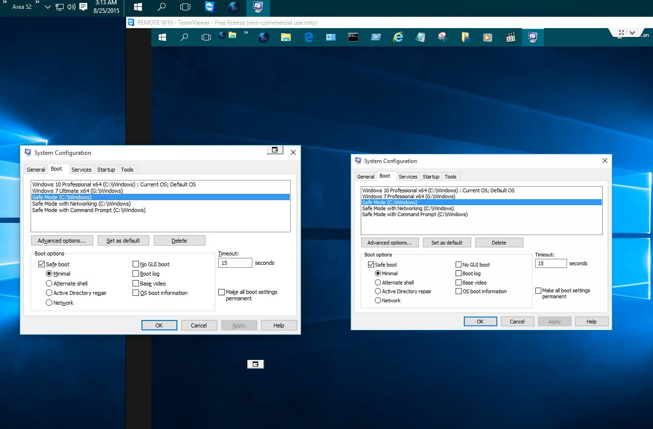 Add Safe Mode to Boot Options in Windows 10 | Tutorials