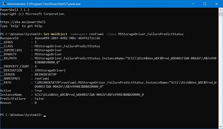 How to Check Drive Health and SMART Status in Windows 10-powershell_7.png