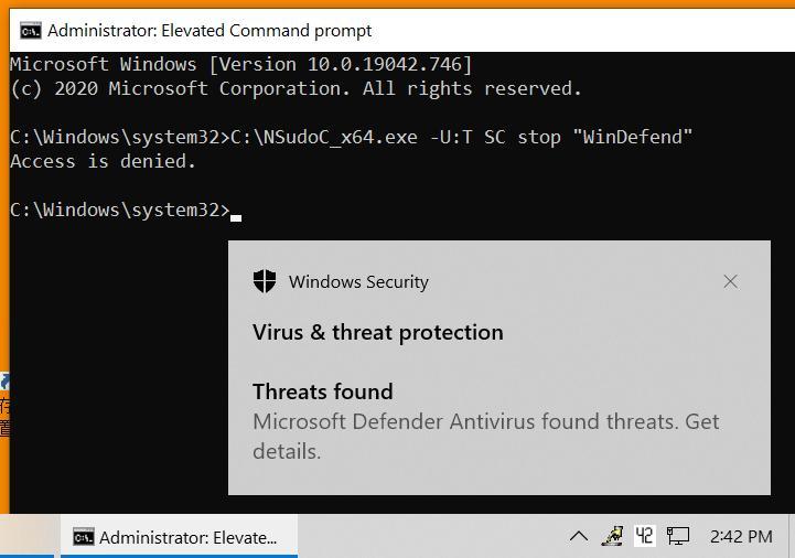 How to Turn On or Off Microsoft Defender Antivirus in Windows 10-1.-command-blocked.jpg