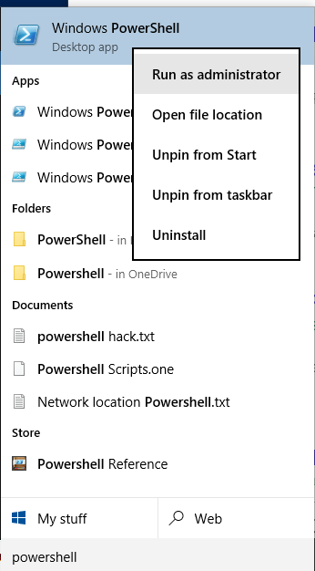 Name:  open powershell admin.PNG Views: 914934 Size:  28.0 KB
