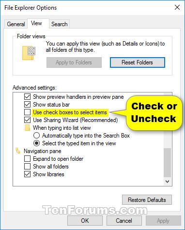 Name:  Item_check_boxes_File_Explorer_Options.png Views: 20043 Size:  25.1 KB
