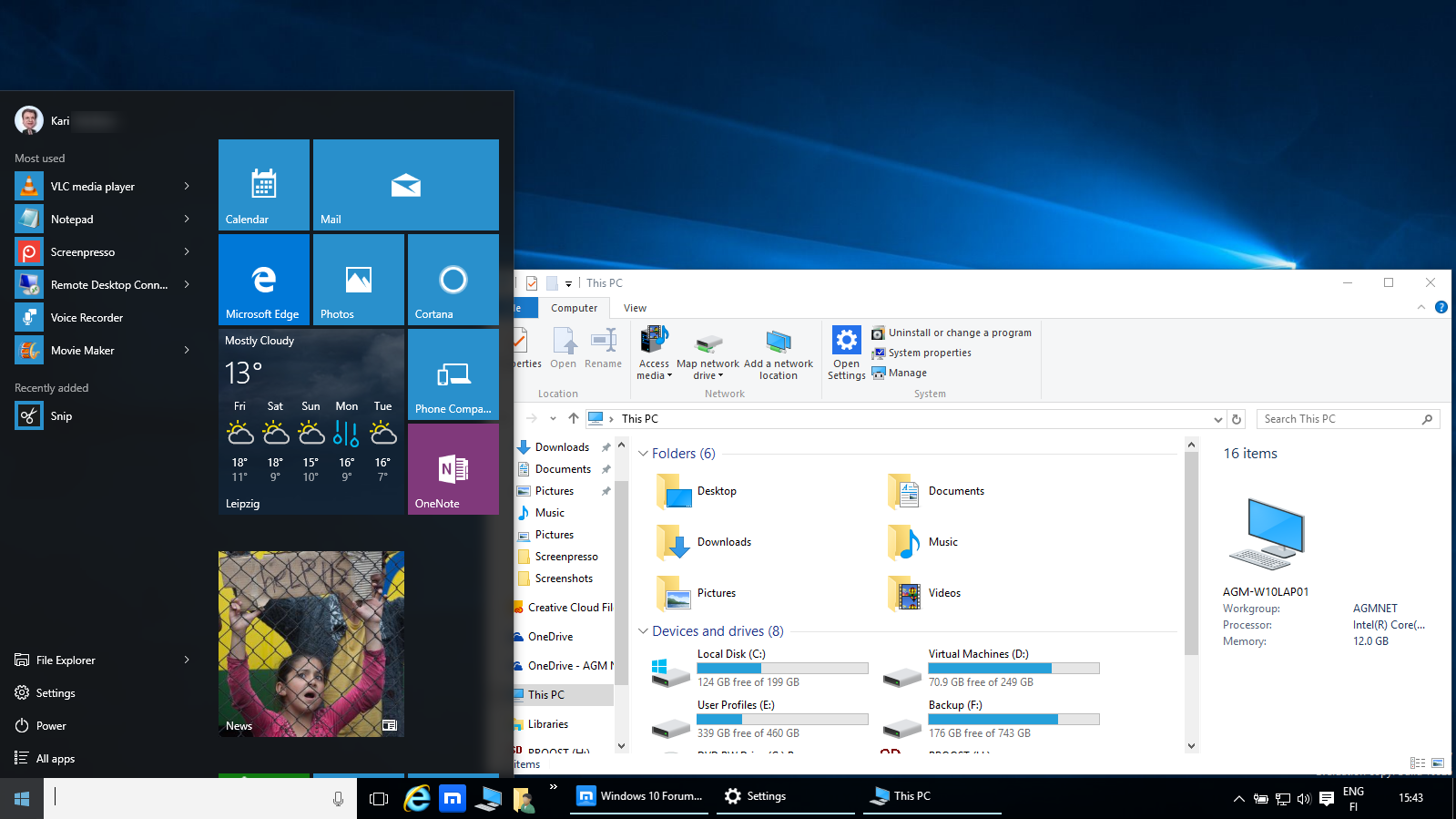 Multiple Displays - Change Settings and Layout in Windows 10   Tutorials