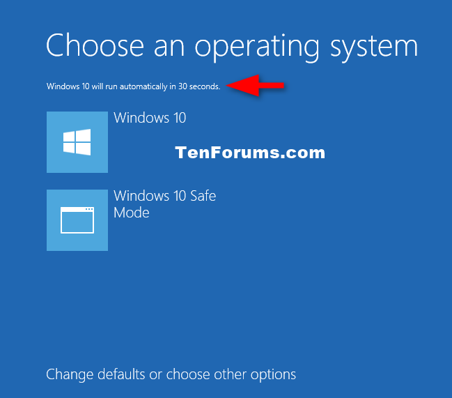windows 10 how to make a recovery bootup