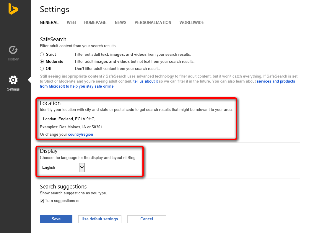Location of Windows 10 - Change for when Abroad | Tutorials