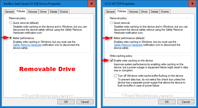 Enable or Disable Disk Write Caching in Windows 10 | Tutorials