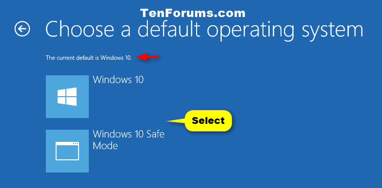 how to change operating system on windows