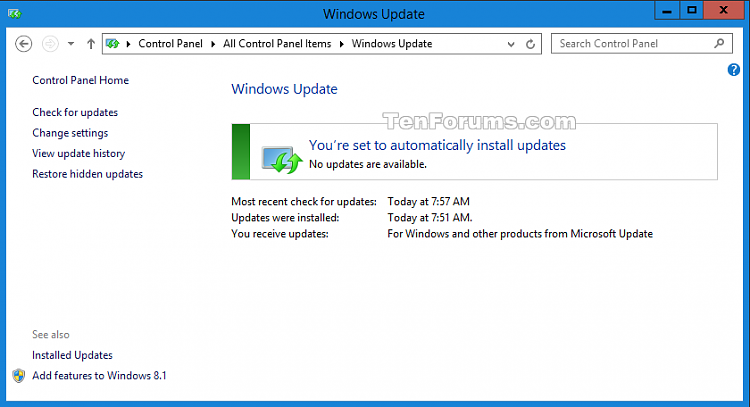 Disable Upgrade to Windows 10 Update in Windows 7 or 8.1-windows_update.png