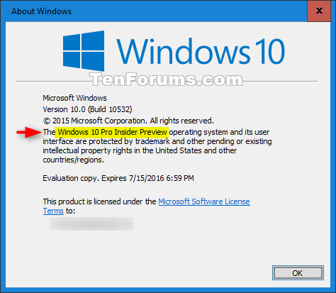 See which Windows 10 Edition you have Installed | Tutorials