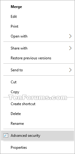Add Advanced security to Context Menu in Windows 8 and 10-advanced_security_context_menu.png