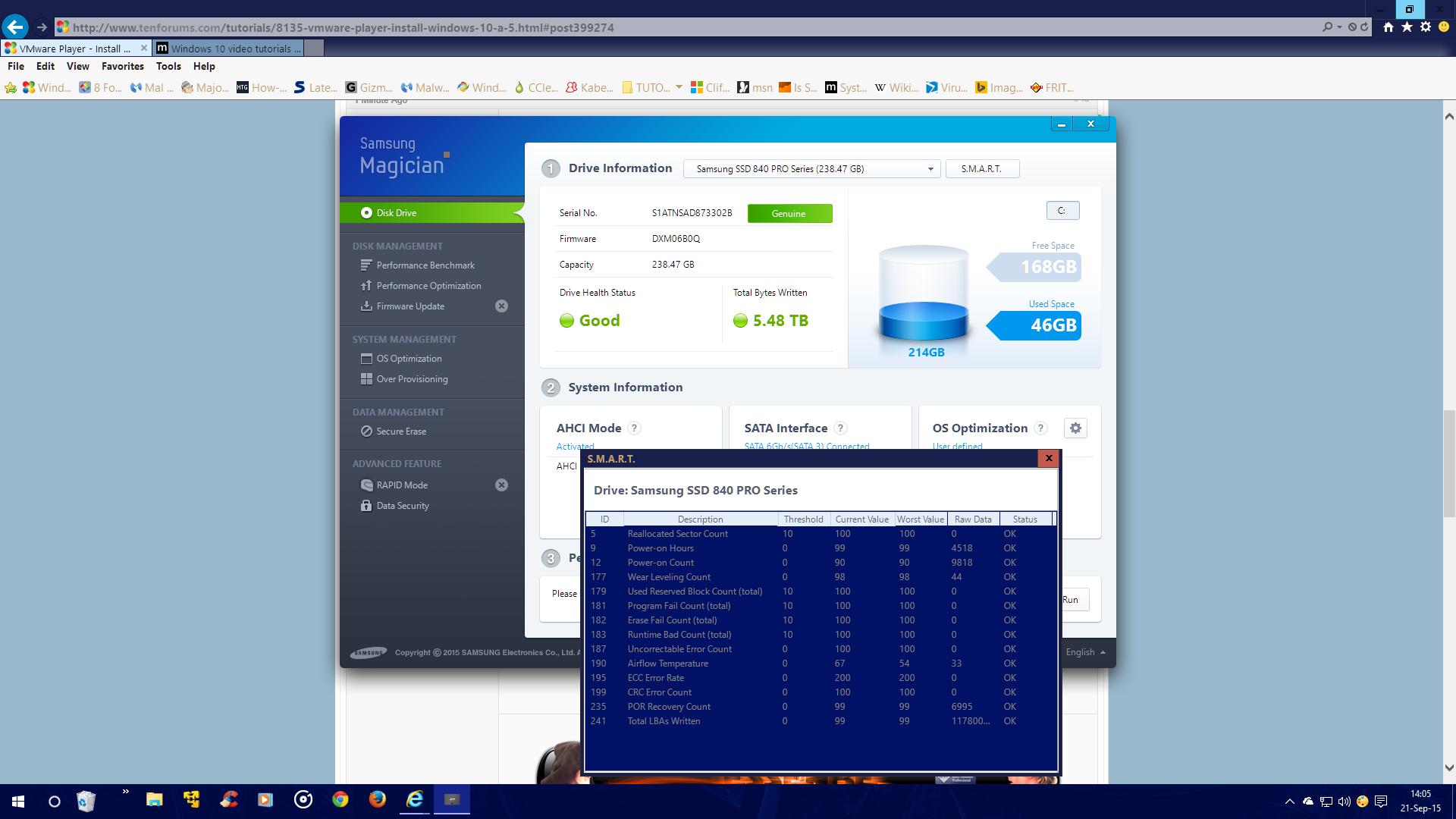 Install Windows 10 as Virtual Machine in VMware Player