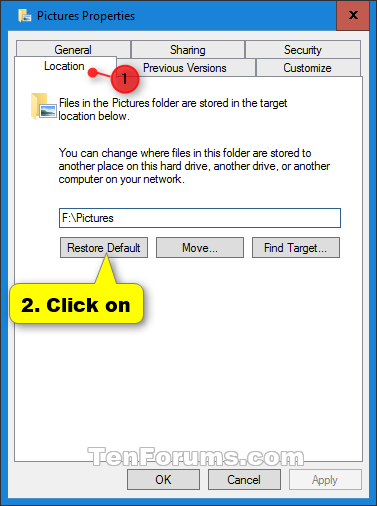 Restore Default Location of Personal Folders in Windows 10-restore_default_folder_location-1.png