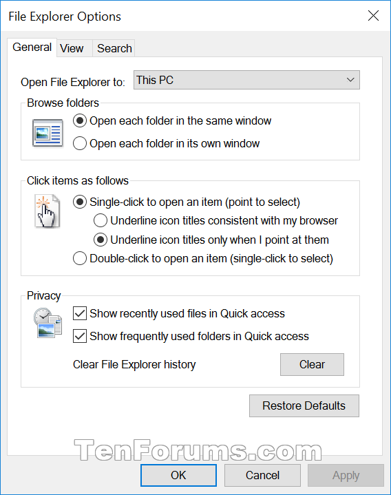 Name:  File_Explorer_Options-General.png Views: 60440 Size:  36.4 KB