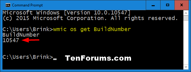 Name:  Windows_10_build_wmic_command.png Views: 21406 Size:  11.5 KB