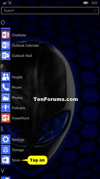 Store - Check for App Updates in Windows 10 Mobile Phone-phone_check_for_updates_store-1.jpg