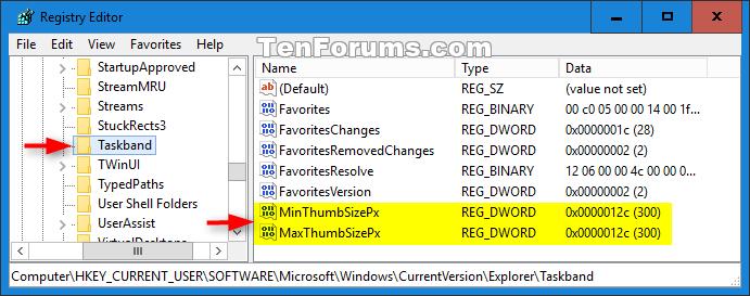 Name:  taskbar_thumbnail_preview_size_registry.png Views: 1502 Size:  31.3 KB