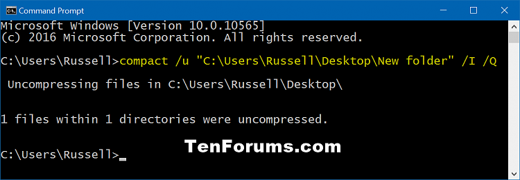 Compress or Uncompress Files and Folders in Windows 10-uncompress_only_folder_command.png