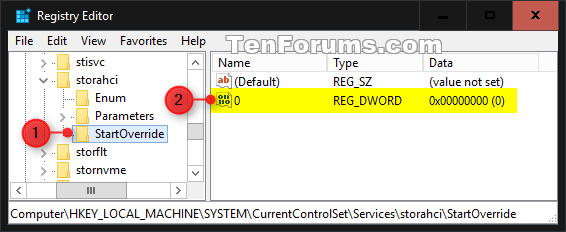 Enable AHCI in Windows 8 and Windows 10 after Installation-startoverride-1b.png