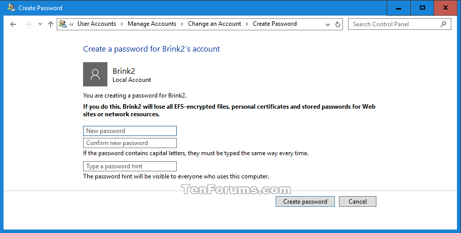 how to see password on window 10