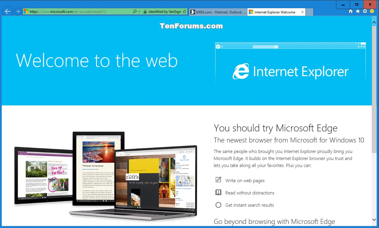 Internet explorer reset in windows 10 windows 10 for Web and windows