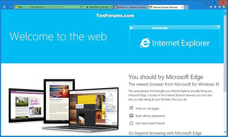 Click image for larger version.  Name:Internet_Explorer_Welcome.jpg Views:3337 Size:172.9 KB ID:43729