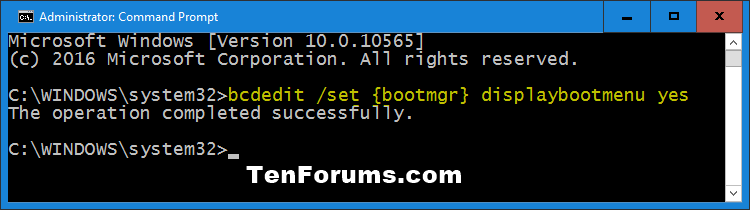 Enable or Disable F8 Advanced Boot Options in Windows 10-displaybootmenu-yes.png