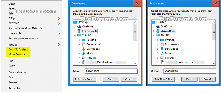 Add 'Copy To folder' and 'Move To folder' Context Menu in Windows 10-copy-move_to_folder.png
