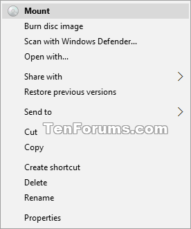 Name:  Mount_context_menu.png Views: 7293 Size:  8.2 KB