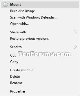 Name:  Mount_context_menu.png Views: 6915 Size:  8.2 KB