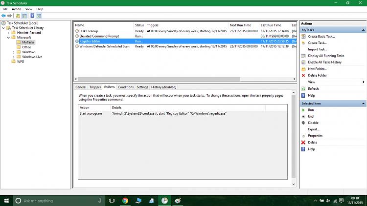 how to run html program in windows 10