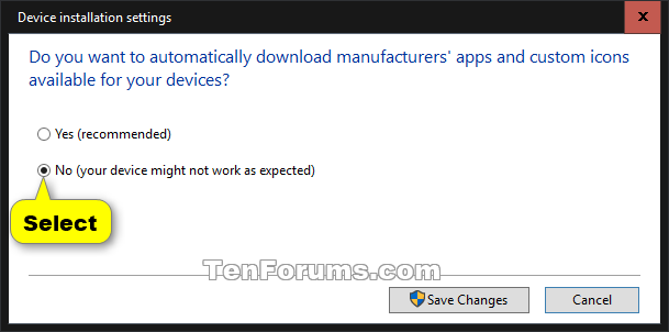 Turn On or Off Device Driver Automatic Installation in Windows 10-device_installation_settings_10565.png