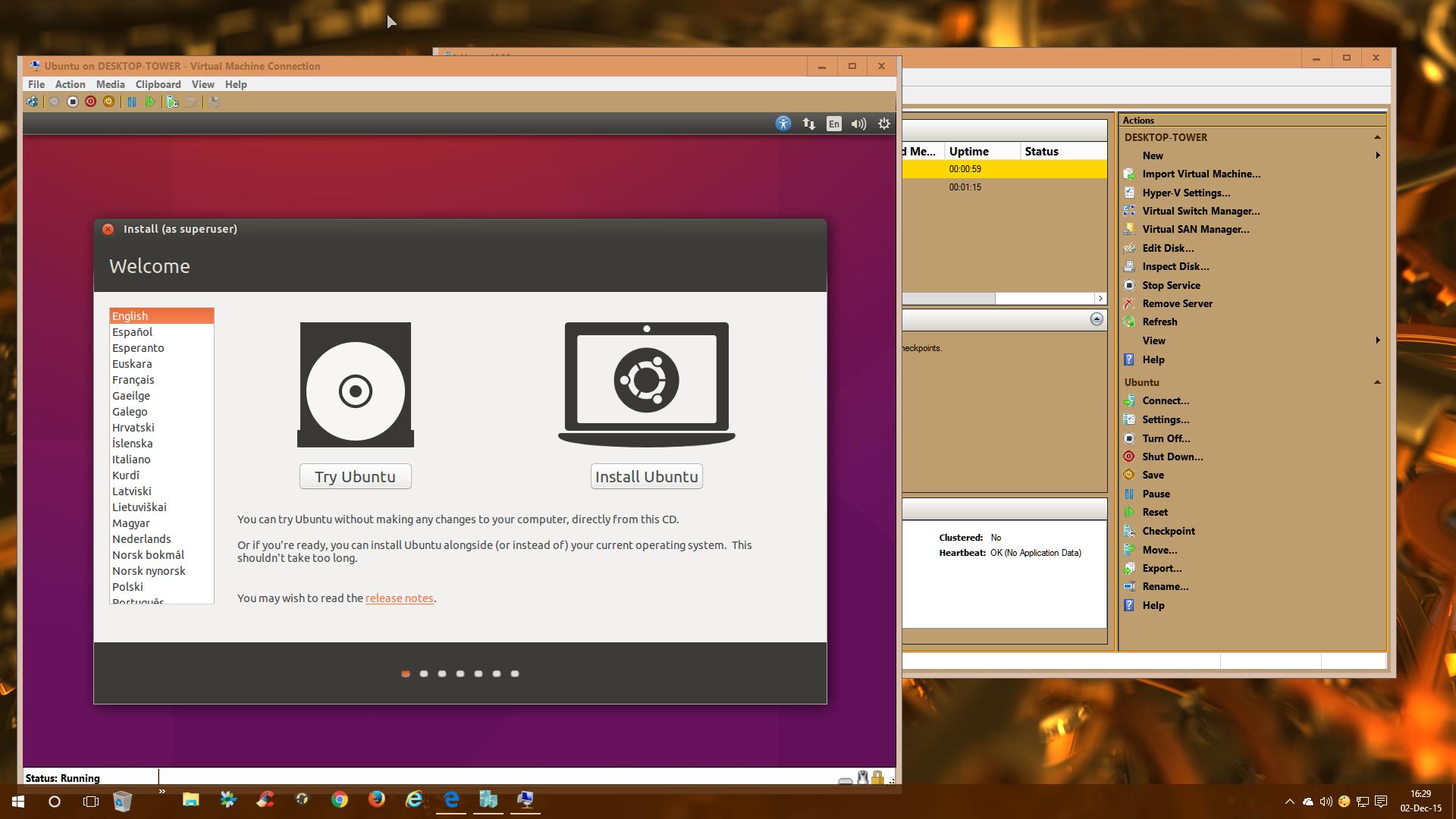 D Hyper V Virtualization