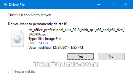 Name:  Recycle_Bin_too_big_delete_confirmation.png Views: 2986 Size:  12.9 KB