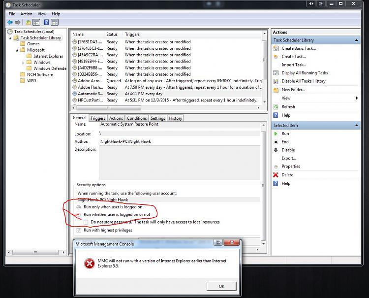 Click image for larger version.  Name:Task Scheduler MMC Problem.jpg Views:77 Size:158.6 KB ID:52627