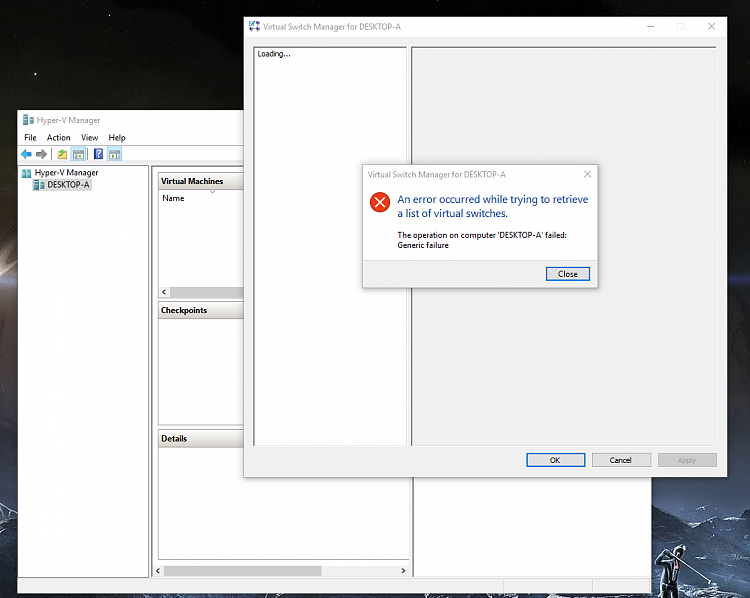 Click image for larger version.  Name:New Hyper-V Fail.PNG Views:40 Size:236.9 KB ID:52863