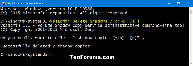 Click image for larger version.  Name:vssadmin_delete_shadows-1.png Views:129 Size:22.9 KB ID:53314