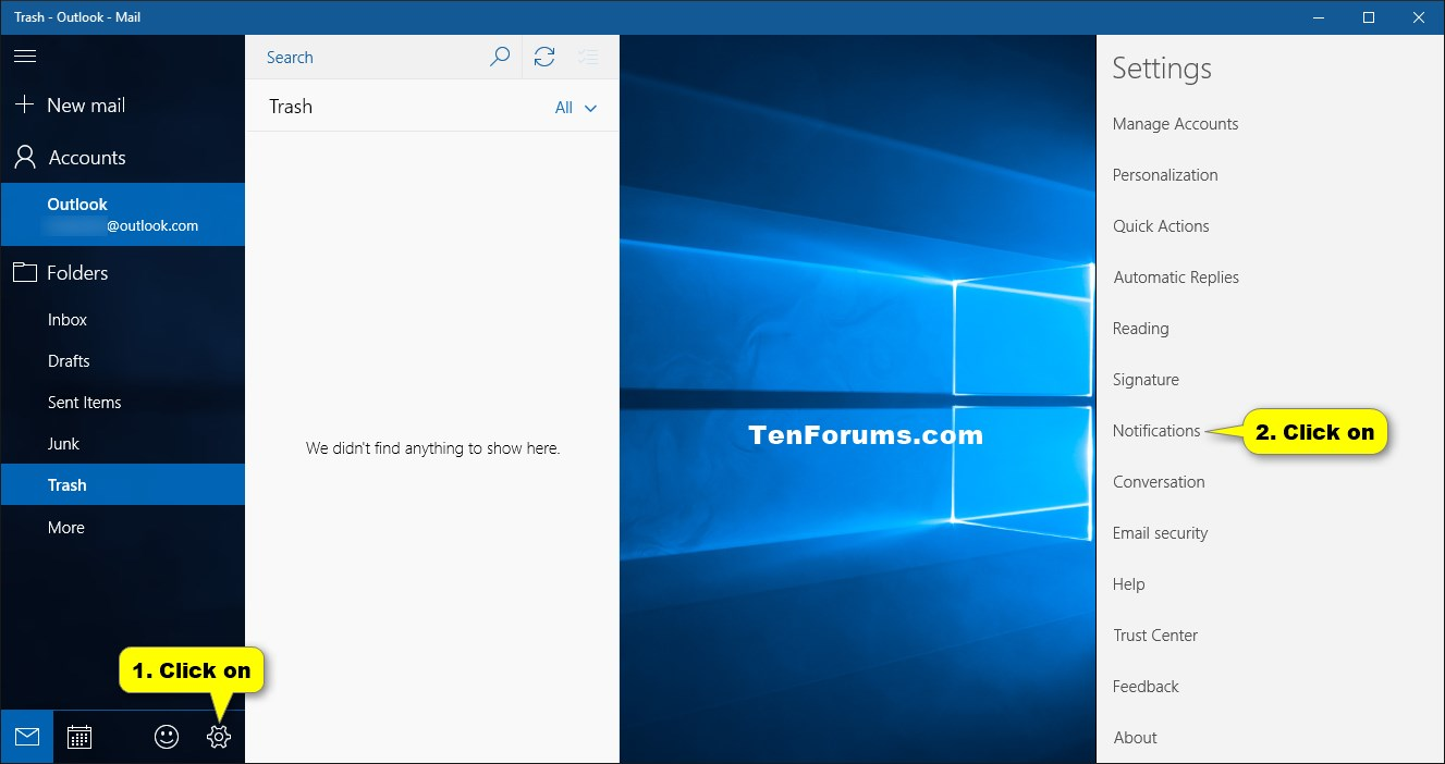 how to turn off windows 10 notifications