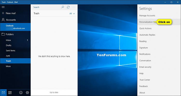 Change Accent Color of Mail and Calendar app in Windows 10-mail_personalization-2.jpg