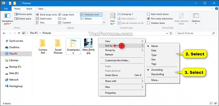 Change Sort by View of Folder in Windows 10-folder_view_sort_by_context_menu.png